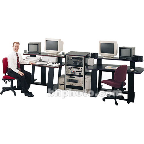 "Winsted E4695 Multipurpose Digital Desk with 35"" Rack"