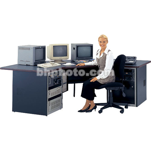 Winsted Multimedia Desk with Corner Design
