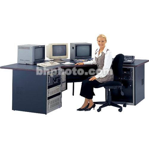 Winsted Multimedia Desk with Corner Design