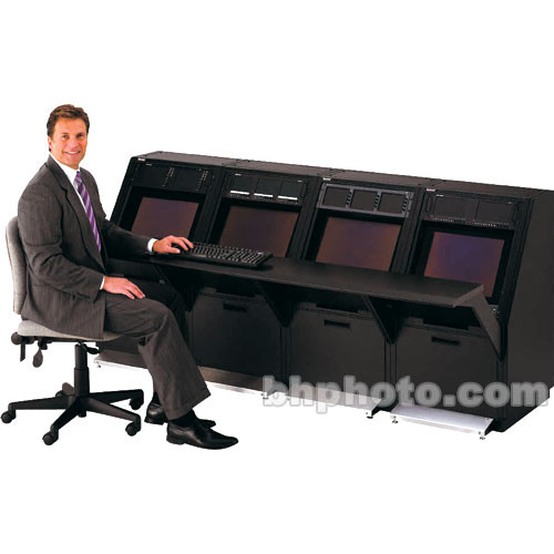 Winsted Four-Bay LCD/3 Console