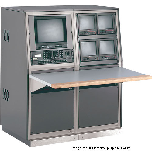 Winsted 2-Bay Security Console with TruForm Work Surface, Model J8555