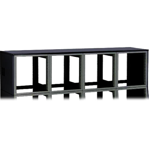 """Winsted 4-Bay 21"""" Top Module for System/85 Series (Black)"""