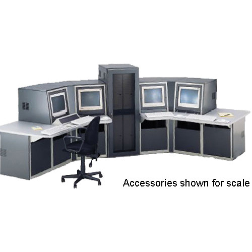 Winsted K8554 Seven-Bay Slope Process Control Console (System/85 Series)