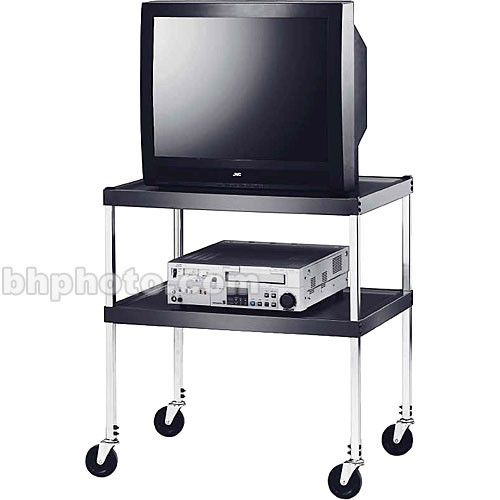 """Winsted 35"""" 2-Shelf Video Stand for 25"""" Monitors"""