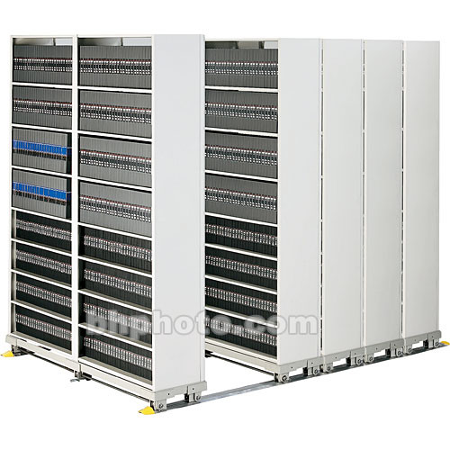 Winsted T2802 Complete Media Storage System (Gray)