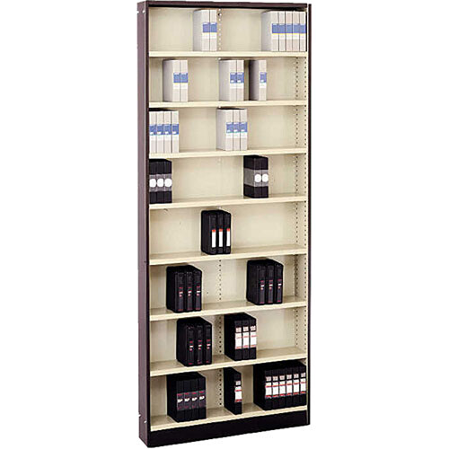 "Winsted WIT7300 Stationary 3/4"" Mini Cassette Cabinet (Brown/Beige)"