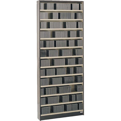 Winsted WIT7390 Stationary CD Cabinet (Brown/Beige)