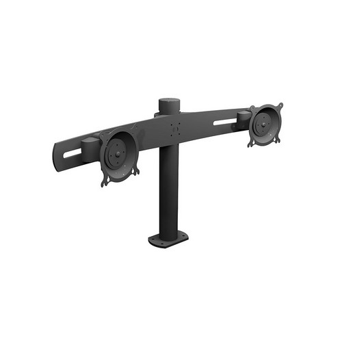 Winsted W5674 Dual LCD Horizontal Pole Mount
