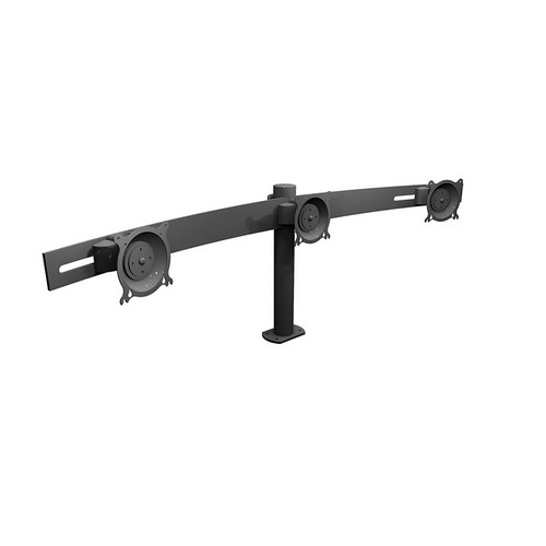 Winsted W5676 Triple LCD Horizontal Pole Mount