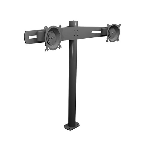 """Winsted W5682 Dual Monitor Mount (28.5"""", Horizontal)"""
