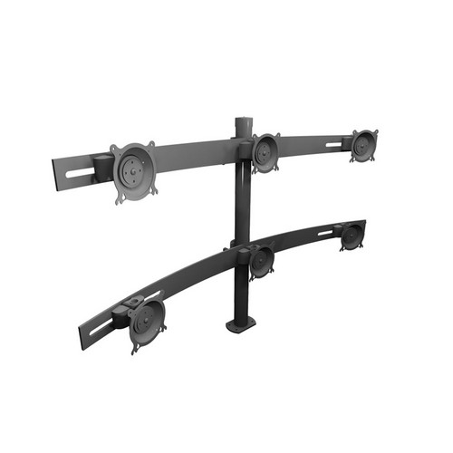 Winsted W5688 Double Tier Monitor Mount