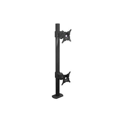 "Winsted W6472  Dual LCD Pole Mount Vertical (28.5"")"