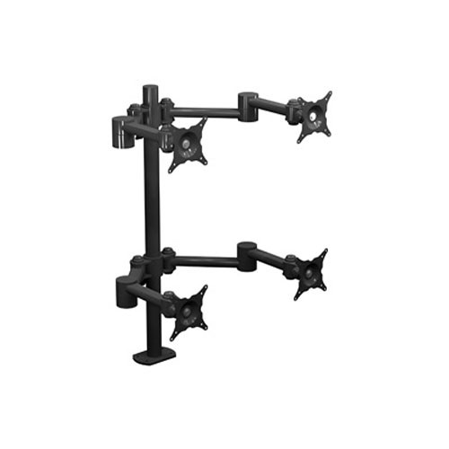"Winsted W6497 Two Dual Articulating LCD Pole Mounts (28"")"