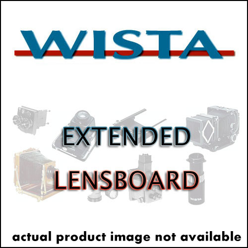 Wista Extended Lensboard for #0 Sized Shutters