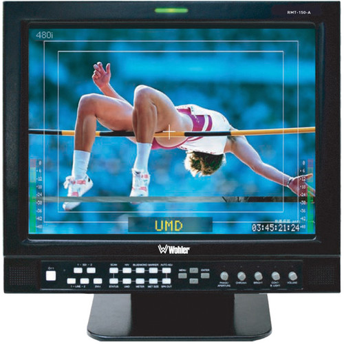 "Wohler RMT-150-SD-RM 15"" Rack-Mount LCD Monitor"