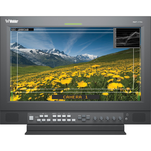 "Wohler RMT-170-SD-RM 17"" Rack-Mount LCD Monitor"