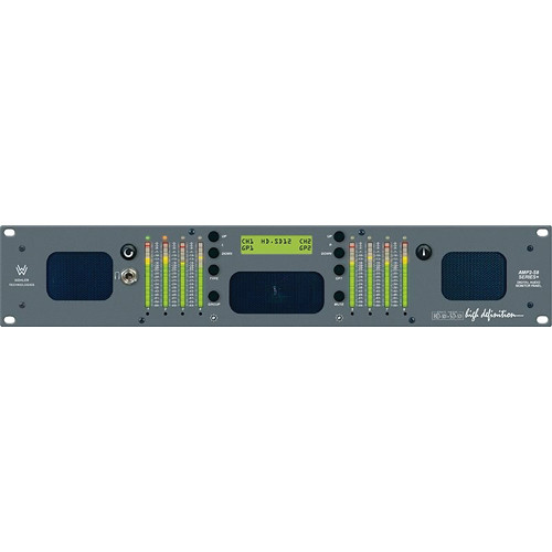 Wohler AMP2-S8MDA-3G 8-Channel 3G Multi-Format Audio Monitor