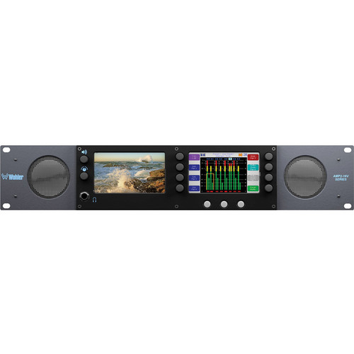 Wohler AMP2-E16V-3G 16-Channel Audio/Video Processing Monitor