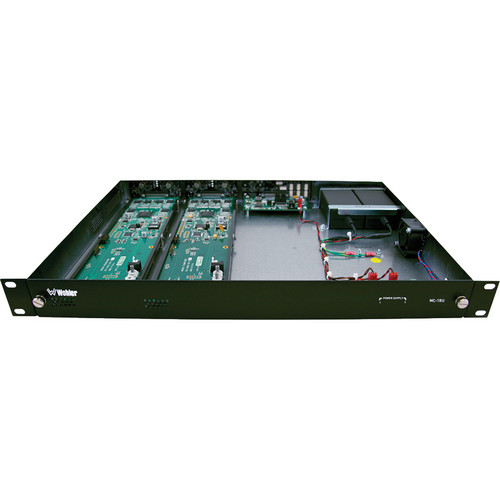 Wohler MC-1RU Modular Chassis Enclosure for HDCC Cards