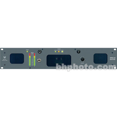 Wohler AMP2A-10S - Active Rackmount  Speaker with 10 Stereo Inputs