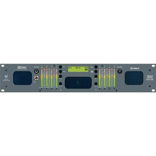 Wohler AMP2-E8DA -  AES/Dolby D/AC-3  8-Channel Analog Audio Monitor, Meters, Speakers
