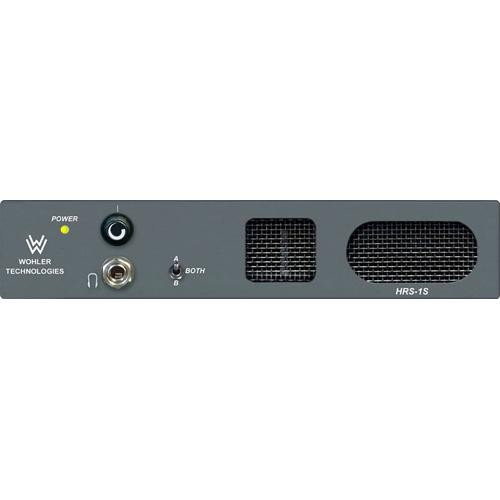 Wohler HRS-1S - Half-Rack Analog 2-Channel Audio Monitor