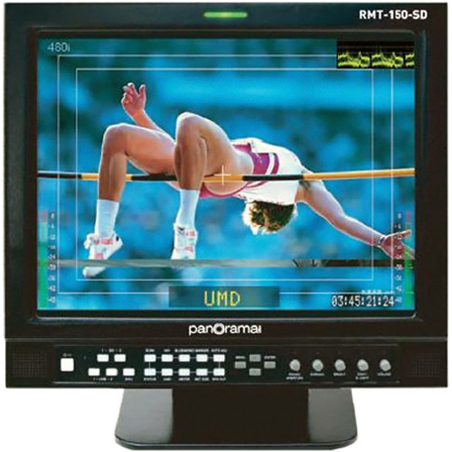 "Wohler RMT-150-A 15"" Analog LCD Monitor"