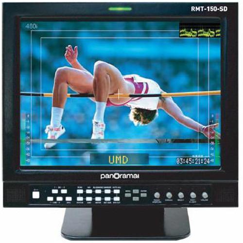 """Wohler RMT-150-SD 15"""" Dual SD-SDI LCD Monitor"""