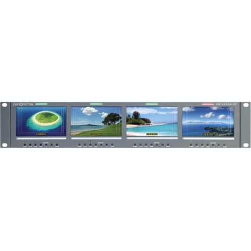 "Wohler RM-2443W-2C Quad 4.3"" Monitor"