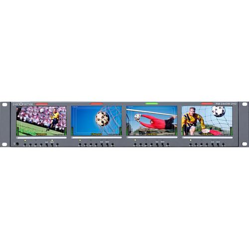 "Wohler RM-2443W-2HD 4.3"" LCD Rack"