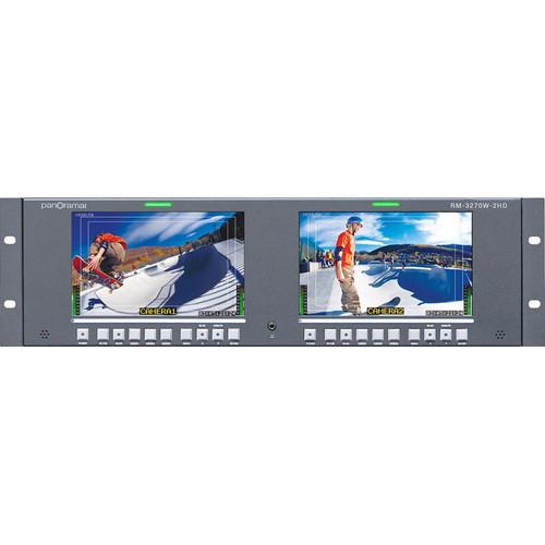 "Wohler RM-3270W-2HD 7"" LCD Rack"