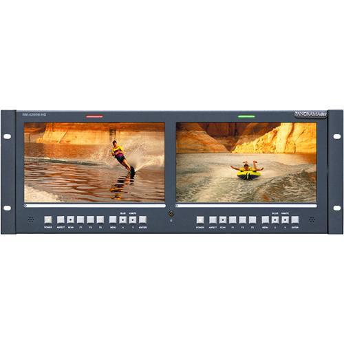 """Wohler RM-4290W-HD Dual 9"""" HD/SD-SDI Monitor"""