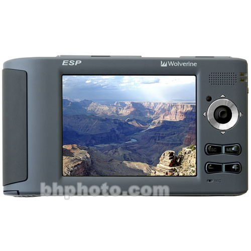 Wolverine Data ESP 80GB Portable Multimedia Storage and Player
