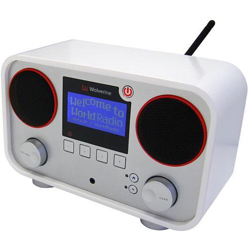 Wolverine Data WIR900 WorldRadio WiFi/Ethernet Internet Radio