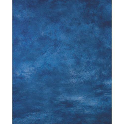 Won Background Muslin Modern Background - Ocean Blue - 10x20' (3x6m)