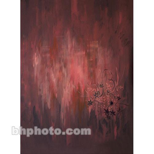 Won Background Muslin Renoir Background - Flamingo - 10x20' (3x6m)