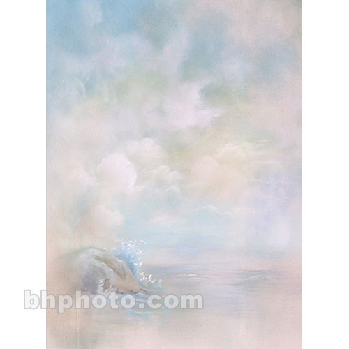 Won Background Muslin Renoir Background - La Mer - 10x10' (3x3m)