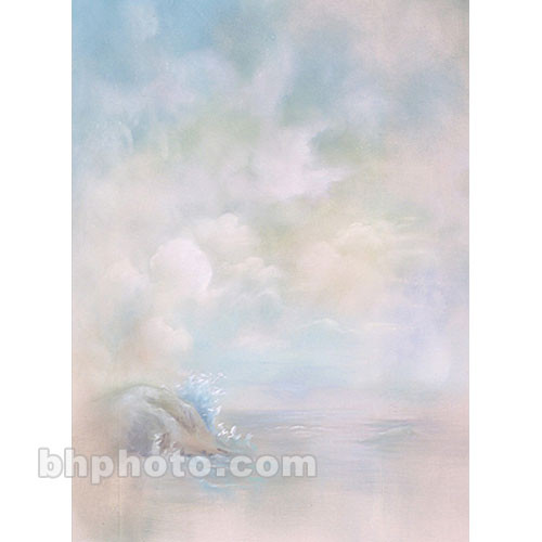 Won Background Muslin Renoir Background - La Mer - 10x20' (3x6m)