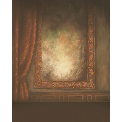 Won Background Muslin Xcanvas Background - Gothic Wall - 10x10'