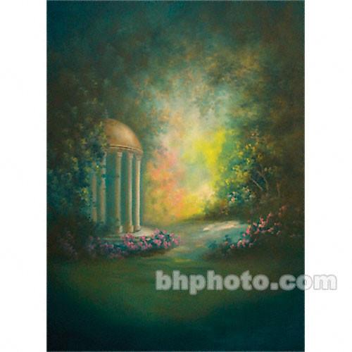 Won Background Muslin Xcanvas Background - Huntington Garden - 10x10'