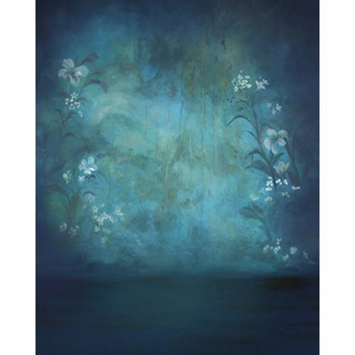 Won Background Muslin Xcanvas Background - Dawn Blue - 10x10'