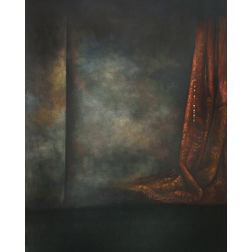 Won Background Muslin Xcanvas Background - Claret Vorhang - 10x10'