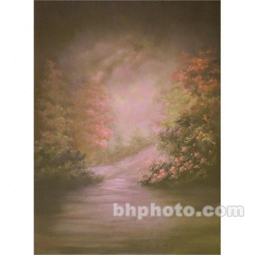 Won Background Muslin Xcanvas Background - Aphrodite's Garden - 10x10'