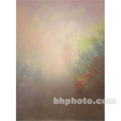 Won Background Muslin Xcanvas Background - Wild Flowers - 10x10'