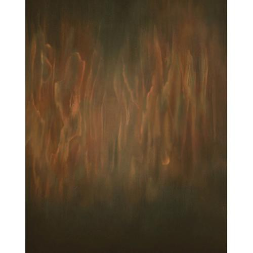 Won Background Muslin Xcanvas Background - Wooden Blaze - 10x10'