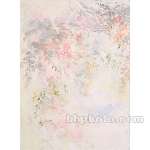 Won Background Muslin Xcanvas Background - Pink Floral - 10x20'