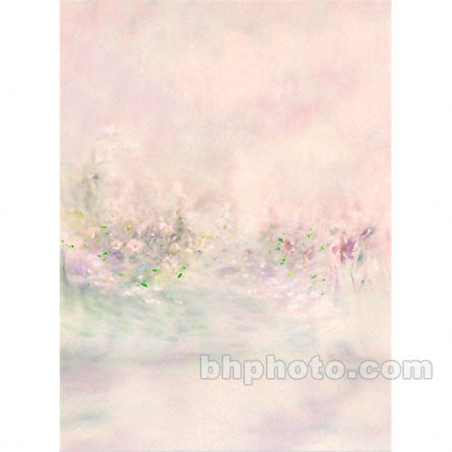 Won Background Muslin Xcanvas Background - Monet Garden - 10x10'