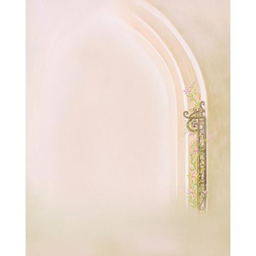 Won Background Muslin Xcanvas Background - Pearly Arch - 10x10'