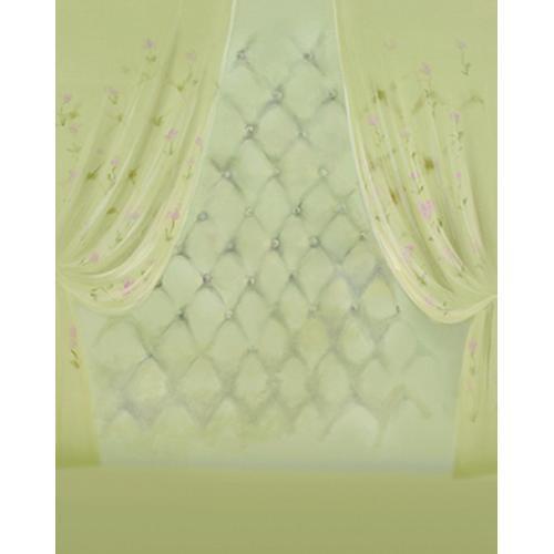 Won Background Muslin Xcanvas Background - Green Curtain - 10x10'