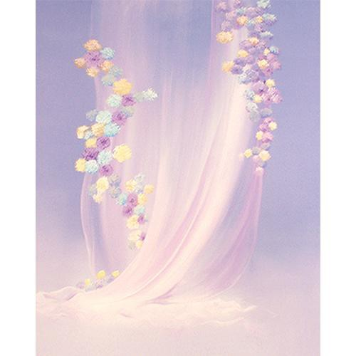 Won Background Muslin Xcanvas Background - Bridal Blossom - 10x10'